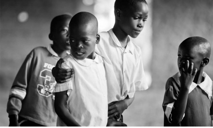 Tanden is sponsoring students to attend school in Tanzania