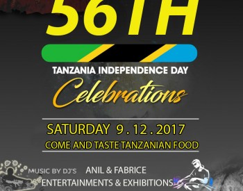 56th Tanzania Independence Day Celebrations
