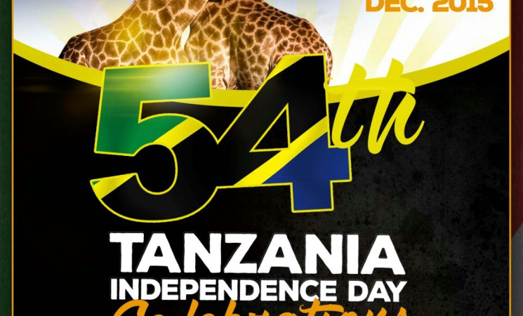 Tanzania Independence Day Saturday  12-12-2015