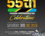 TIME TABLE FOR TANZANIA INDEPENDENCE CELEBRATION