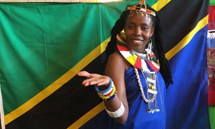 Tanden yawakilisha Tanzania Katifa maonyesho ya Afrika Messen Gladsaxe